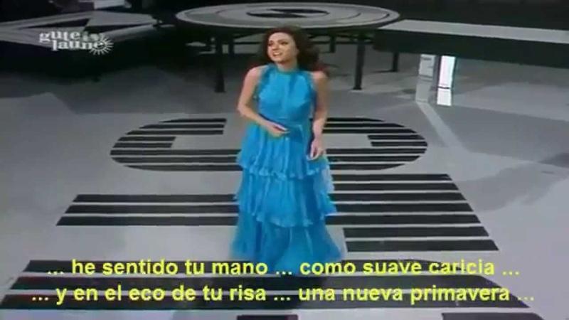 Gigliola Cinquetti A las puertas del cielo Video de Oro con letra with lyrics