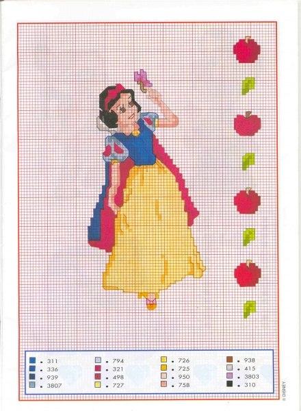 Схемы вышивки Принцессы as a gift (Череповец). DaruDar