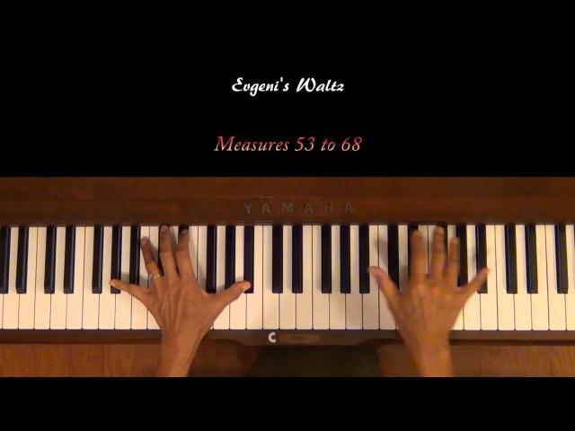 Evgeni's Waltz Abel Korzeniowski Piano Tutorial Slow