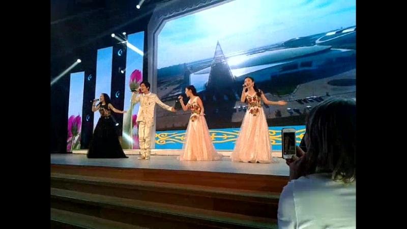 Песня Туган жер. Концерт День казахской культуры, окт2017