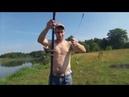 Воскресный отдых всей семьёй на рыбалке и мини пикнике.