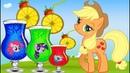 Май Литл пони на волшебной полянке - Мультики для девочек Развивающее видео для детей