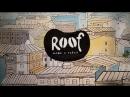 Роспись стены в кофейне ROOF lokale на рубинштейна 28