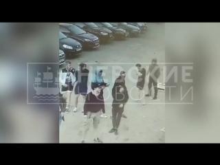 НЕВСКИЕ НОВОСТИ публикуют видео драки со стрельбой у клуба