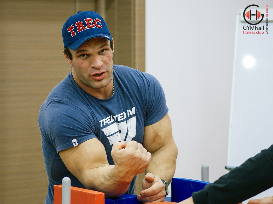 Denis Cyplenkov - Armwrestling Seminar 20, 21 October 2014 │ Photo Source: GYMhall fitness club