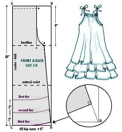 Модели женских летних юбок 6 класс