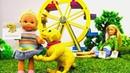 Барби и Штеффи нашли собаку! Кто хозяин Мультики для детей - Играем в куклы