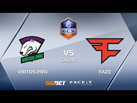 VirtusPro vs Faze ecs season 6 europe