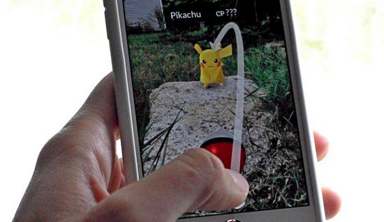 Pokemon Go: различные броски покеболом