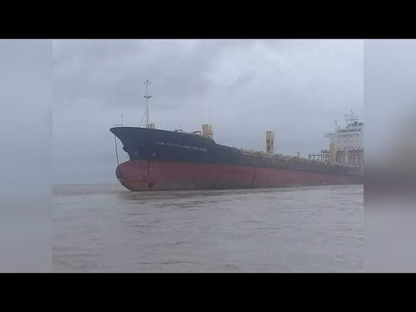 Mysterious 'ghost ship' reappears after 9yrs lost at sea
