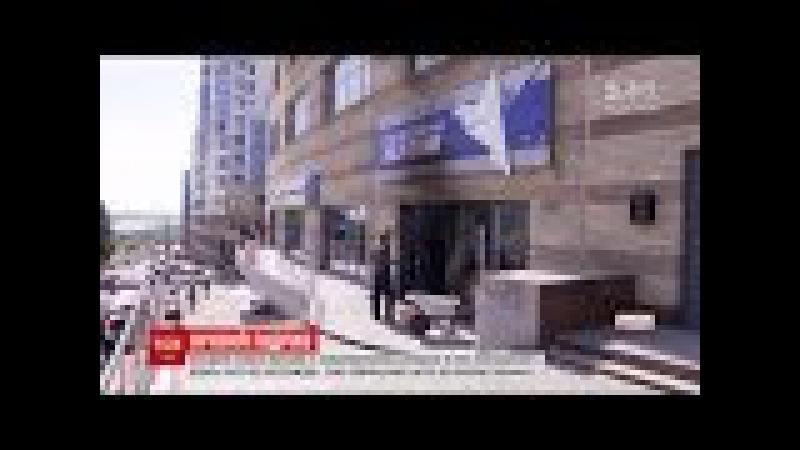 Невідомі підпалили офіс Опоблоку у Дніпрі