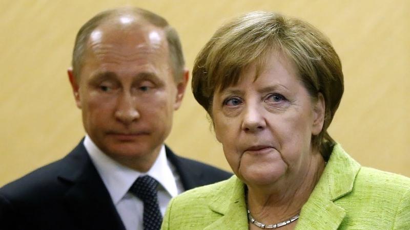 Немец. сми: Путин ненавидит рэп, а Меркель его просто обожает
