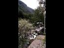 Абхазия. Горная река рядом с Голубым озером