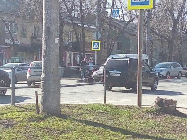 Авария на пр Кирова 4 часа - сбили пешехода 4:16 - приехала скорая Нач