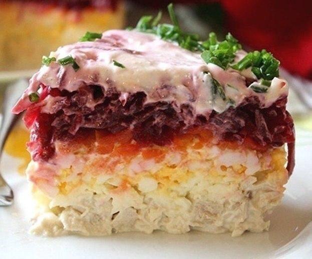 Салат из свёклы «Генерал»