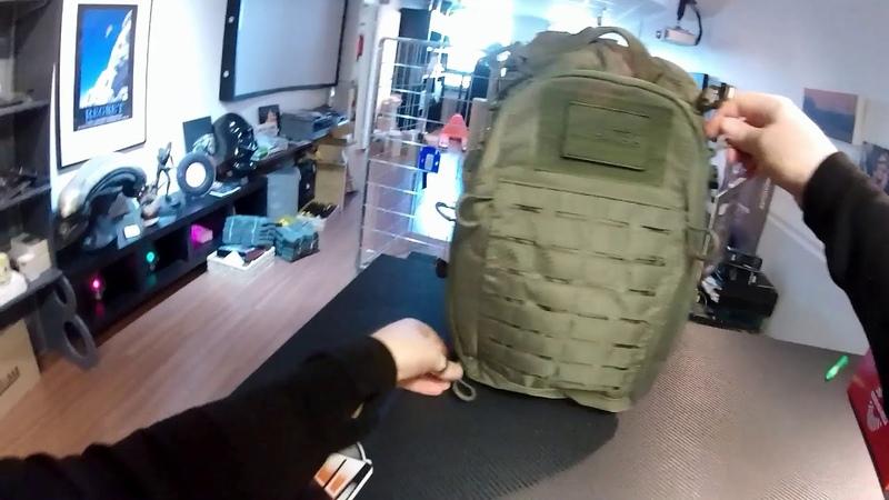 Mil-Tec Hextac 25L Backpack Olive Drab