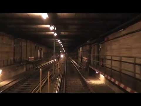U-Bahn Berlin - U2 Führerstandsmitfahrt / Cab Ride: Pankow - Ruhleben