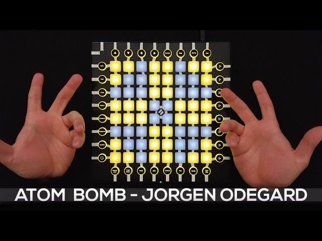 Jorgen Odegard - Atom Bomb - Launchpad Pro Cover