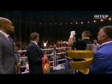 Слова Александра Усика в ринге после победы над Муратом Гассиевым