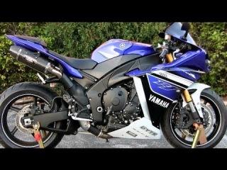 2013 Blue Yamaha YZF-R1 Walkaround - Carbon Fiber Yoshimura Exhaust Sound - Yamaha R1 Walk Around