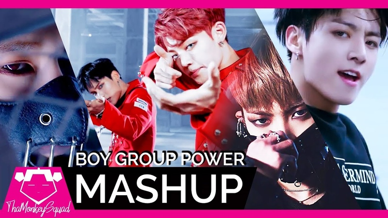 BTS / A.C.E / MONSTA X / ATEEZ - 'Mic Drop /Under Cover /Shoot Out /Hala Hala' KPOP MASHUP 2019