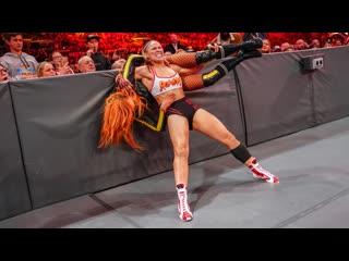 DAW | Ронда Роузи против Бекки Линч против Шарлотты