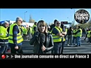 🔴▶▶Une journaliste censurée en direct sur France 3