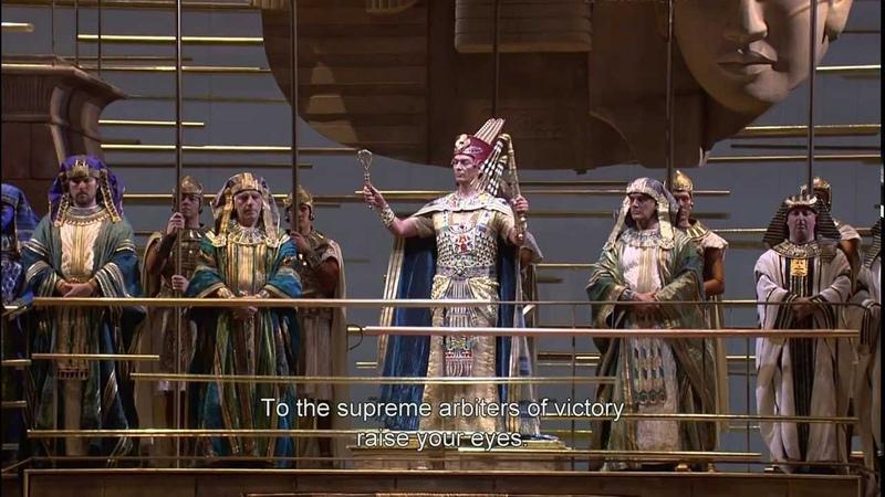 Verdi Aida Gloria allEgitto, ad Iside Chorus