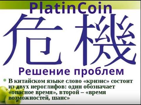 PlatinCoin Ниша для бизнеса Решение проблем