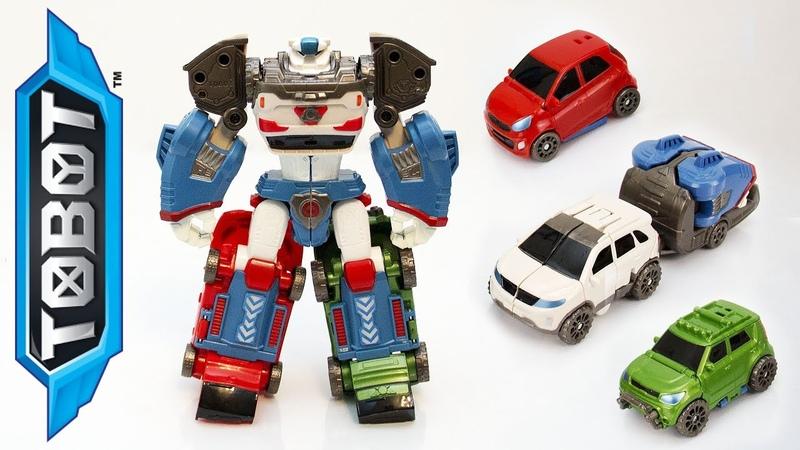Распаковка Трансформеров: Тобот Дельтатрон. Игрушки для мальчиков.