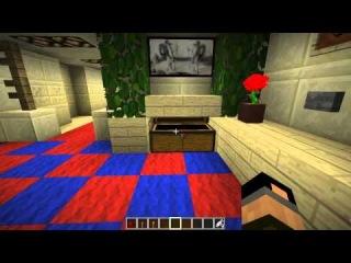 Самый лучший механический дом в Minecraft 1.6.2 (Дом Den'a) #2
