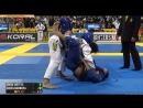 Black belts Jorge Britto vs Lucas Barbosa IBJJFWORLD16