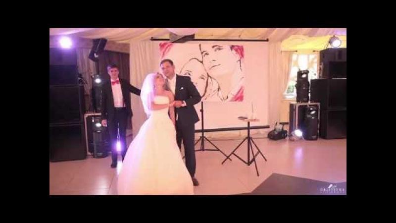 Танцующий художник шоу на свадьбу. Galitsyna Art Group