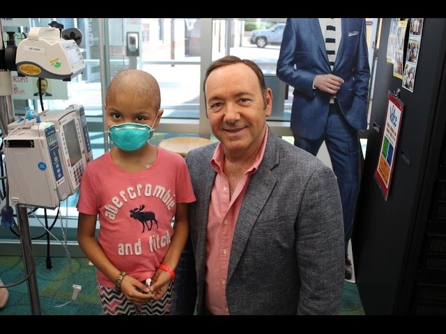 Kevin Spacey Makes A Special Visit To Seacrest Studios Atlanta