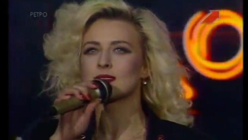 Красивая девчонка Татьяна Овсиенко Хит парад Останкино 92 1992 год