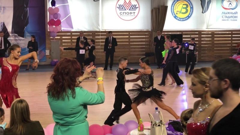 Беломорские ритмы 2018 юниоры 2 пасадобль Первенство Архангельской области