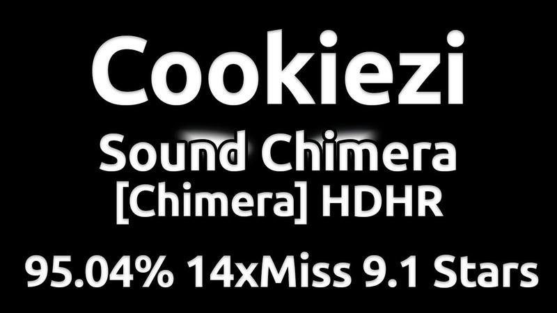 Cookiezi | Laur - Sound Chimera [Chimera] HDHR 95.04% 14xMiss ★9.1