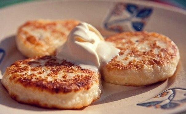 низко калорийные сырники рецепт