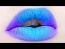 Lipstick Tutorial Compilation How to Apply Lipstick Lip Art 2018