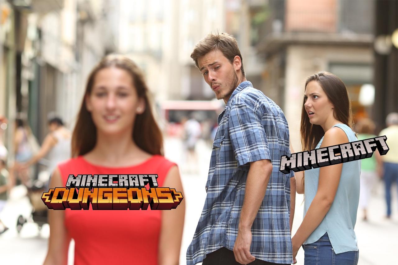 Minecraft: Dungeons получила первые оценки – неплохо  Игровые...