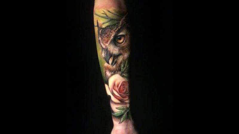 Мастер @adry_sanchez_tattoo