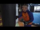 Костя Цзю. Шахматы Бокса. 3 Этап. Тренировка 4. Серия 1. 10 минут работы на мешке без остановки