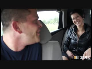 [czechhitchhikers] emylia argan - smiley brunette gets a lift and a fuck