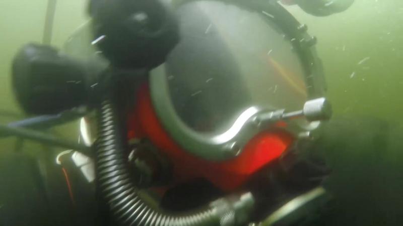 Подготовки к проведению подводно-технических работ на затонувшем в Баренцевом море в годы Великой Отечественной войны транспорте
