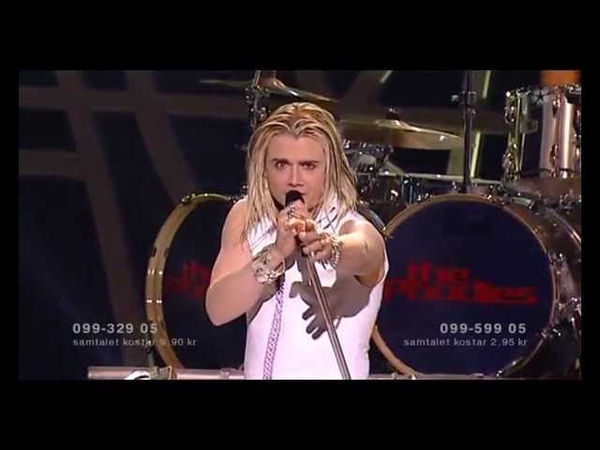 The POODLES ¤ Night Of Passion Melodifestivalen 2006