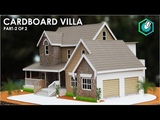 How To Make A BEAUTIFUL MANSION House From Cardboard European country house Project part 2