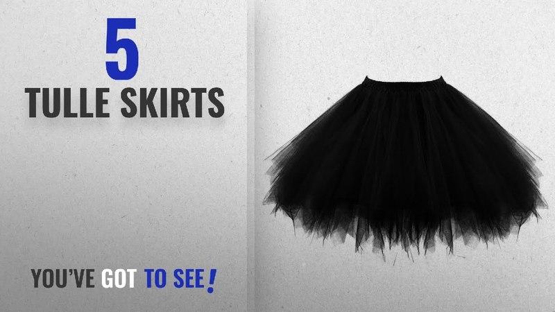 Top 10 Tulle Skirts [2018]: Ellames Women's 50s Vintage Petticoat Party Accessory Tutu Skirt Ballet
