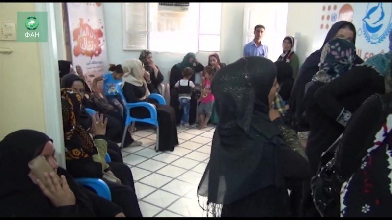 Сирия медики ООН помогают жителям Хасаки