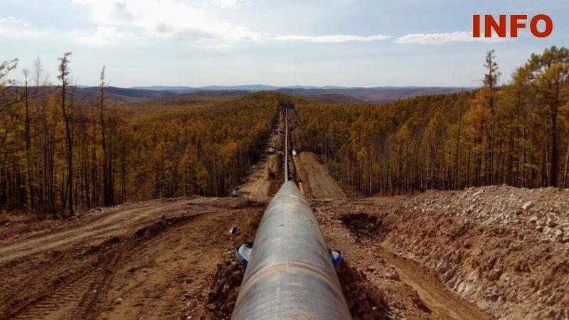 Украина режет советский нефтепровод на металлолом