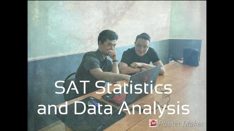 SAT Statistics and Data analysis
